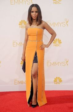 The 2014 Emmy Awards: The Best Dressed Celebrities - Kerry Washington