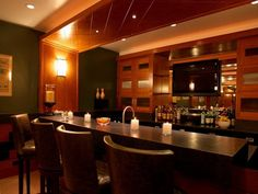Glamour Home Bar Decorating Ideas