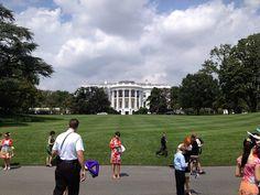 Outside the White House #KidsStateDinner