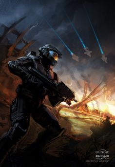 Isaac Hannaford is a concept artist at former Halo developers (and series creators) Bungie, who recently got the all-clear to post a ton of his work on his personal site. Halo 3 Odst, Halo 2, Halo Reach, Fire And The Flood, Halo Armor, Halo Spartan, Science Fiction, Halo Master Chief, Halo Series