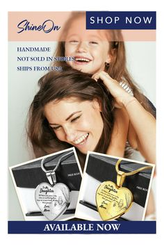 To my Daugther Heart necklace handmade jewelry   accessory jewelry   fashion jewelry   pretty jewelry   bangle   jewelry i like   jewelry cute   cute jewelry   just jewelry   popular jewelry  jewelry   beautiful jewelry   lovely jewelry   women jewelry   jewelry love   jewelry gifts   best jewelry   amazing jewelry   jewelry bling   personal jewelry   gold jewelry   jewelry silver   #handmadejewerly #lovenecklace #necklace Mom Jewelry, Cute Jewelry, Jewelry Gifts, Heart Shaped Necklace, Love Necklace, Handmade Necklaces, Handmade Jewelry, Valentines Day Gifts For Him, Jewelry Companies
