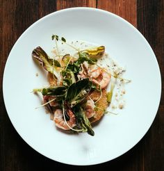 At Rhubarb, expect riffs on Southern dishes like fried green tomatoes.
