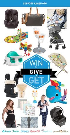 Win $2,000 worth of baby gear and help spread the word about Kangu.org! Fund a safe birth for a mama and her baby at kangu.org. #giveaway #mothersday #donate