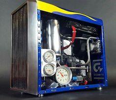 Computer Set, Computer Build, Cool Cases, Pc Cases, Pc Setup, Gaming Setup, Custom Computers, Pc Tower, Custom Pc