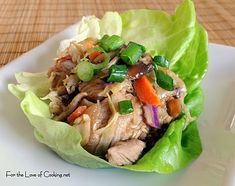 Moo Shu Pork  (Have to convince my husband that pinterest is useful... he'll love this recipe!)
