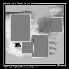 Artsy Layered Template No. 133