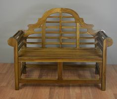 Marlborough Bench for Patio and Outdoor from Solid Teak Wood
