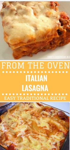 Traditional Italian Lasagna   There are so many recipes for lasagna, but this one is the real traditional Italian Lasagna like you can eat in Northern Italy, where is the home of Lasagna! Simple ingredients combined with layers of egg pasta and a delicious easy bescamel sauce and meat ragu! Easy to make and a perfect dish for your family! Easy recipe!