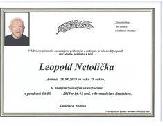 Opustil nás plk.v.v. Leopold Netolička | FÓRUM BEZPEČNOSTNÝCH ZLOŽIEK Leopold, Home Decor, Decoration Home, Room Decor, Home Interior Design, Home Decoration, Interior Design