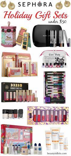 Sephora Holiday Beauty gift sets under $50