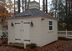 My wife wanted a cupola to put heranemometer on. We lived in Williamsburg at the time, and needed a shed. So after some research, we came up with this design, based on a lot of simliar structures...