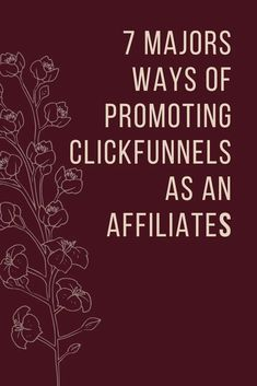 7 Majors Ways of Promoting ClickFunnels as an Affiliate | The X King Email Marketing Services, Online Marketing, Affiliate Marketing, Make Money Online, How To Make Money, How To Become, Business Tips, Online Business, Online Entrepreneur