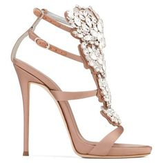 Giuseppe Zanotti Cruel Sparkle (121.240 RUB) ❤ liked on Polyvore featuring shoes, sandals, pink, high heel platform shoes, sparkly sandals, satin shoes, high heel shoes and giuseppe zanotti sandals