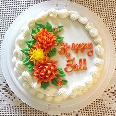 Pretty Little Fall Cake