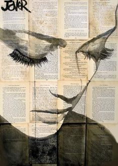 View LOUI JOVER's Artwork on Saatchi Art. Find art for sale at great prices from artists including Paintings, Photography, Sculpture, and Prints by Top Emerging Artists like LOUI JOVER. Journal D'art, Journals, Newspaper Art, Newspaper Background, Bird Drawings, Drawing Birds, Drawing Eyes, Love Art, Art Paintings