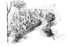 Dessin jardin