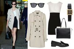 Jet-setting style. Airport look