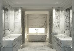 Minimalist.  Beauty is all in the marble.