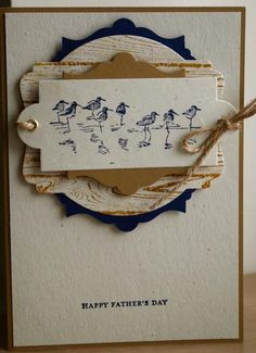Wetland Father's Day by Loris67 - Cards and Paper Crafts at Splitcoaststampers