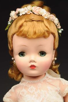 "Lot # : 1217 - Alexander Hard Plastic ""Cissy"" Doll."
