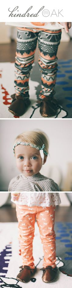 Children's clothes and accessories from Kindred Oak. #babyclothes - kid's fashion