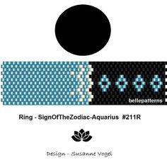peyote ring patternPDF-Download 211R beading pattern