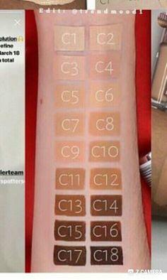 Makeup revolution c6 5
