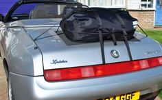 boot bag boot luggage rack for the Alfa Romeo 916 Spider Its a waterproof Luggage Bag that simply straps to the boot lid of your Alfa Spider