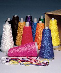 Look at this #zulilyfind! Double Knit Weight Yarn Cone Set #zulilyfinds