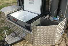 Camping Trailer Ideas Projects Diy Camper 63 Ideas For 2019 Cargo Trailer Camper, Home Made Camper Trailer, Camping Trailer Diy, Overland Trailer, Off Road Trailer, Cargo Trailers, Diy Camper, Camping Hacks, Expedition Trailer