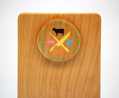 Need a unique idea for your business? Custom color printed maple wood check presenters with magnets. Fort Collins, Magnets, Presents, Clock, Printed, Business, Wood, Unique, Gifts