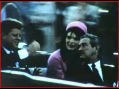 Never-before-seen footage of JFK minutes before his assassination John F...