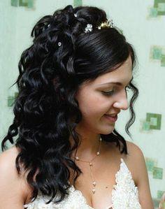 Acconciature sposa 2014 capelli ricci