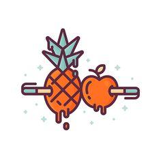 Illustration / iconography / logo design 2016-2017 on Behance