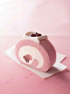 日本人のおやつ♫(^ω^) Japanese Sweets 桜ロールケーキ japanese snacks recipes Japanese Cake, Japanese Sweets, Japanese Food, Japanese Pastries, Japanese Kitchen, Asian Desserts, Sweet Desserts, Asian Recipes, Swiss Roll Cakes