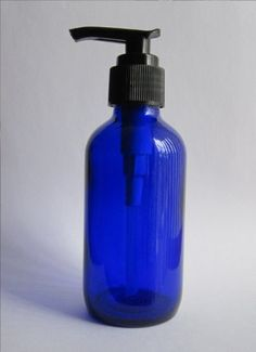 Pack of 6 - Cobalt Glass Boston Round Bottles with Pump Tops Cobalt Glass Protects Contents From Light Degradation Perfect For Storing/Dispensing Lotions & Liquid Soaps Overall Height: Diameter: Pack of 6 bottles each with pump top Doterra Essential Oils, Young Living Essential Oils, Homemade Beauty Products, Pure Products, Natural Sleep Aids, Cobalt Glass, Liquid Soap, How To Make Homemade, Soap Dispenser