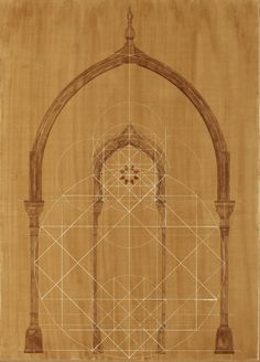 Joachim Tantau - Geometric Drawing of Moroccan Pavilion. Geometric Drawing, Sufi, Islamic Art, Pavilion, Design Elements, Geometry, Stained Glass, Architecture Design, Oriental