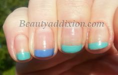 China Glaze colorful mani! BeautyAddixion: A blog about makeup, nails and sales