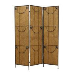 Buy online quality 72 x 60 Lone Star 3 Panel Room Divider