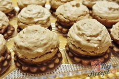 Discover recipes, home ideas, style inspiration and other ideas to try. Oreo Cupcakes, Cake Cookies, Christmas Sweets, Christmas Cookies, Cookie Desserts, Cookie Recipes, Czech Recipes, Desert Recipes, Coffee Cake