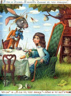 """""""Приключения Алисы в Стране чудес, рассказанные для маленьких читателей самим автором"""" Льюис Кэролл Нарисовала Елена Базанова. Это пересказ """"Алисы"""" для малышей. В…"""