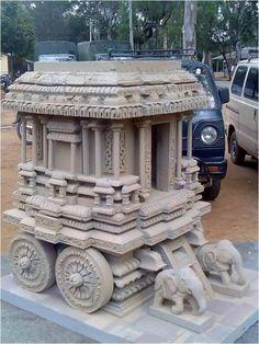 thermocol temple - Google Search