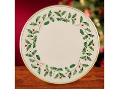 10.75-in. Holiday Dinner Plate by Lenox at Cooking.com #holidaycooking