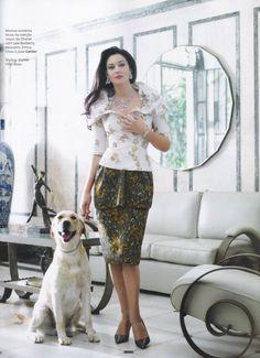 FabFashionFix - Fabulous Fashion Fix | Monica Bellucci for Vogue Brazil January 2013