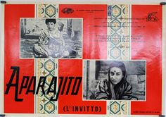 Image result for aparajito (1956) poster