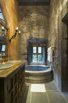 Medieval modern bath