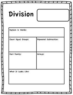 math worksheet : division on pinterest : Repeated Subtraction Worksheets