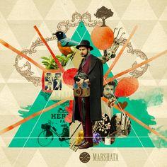 Mustafa Soydan's Mixed Media Illustrations