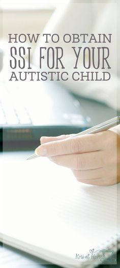 SSI, or supplemental security income, has been a lifesaver for our family. Here's how to obtain SSI benefits for your autistic child. Autism Help, Aspergers Autism, Adhd And Autism, Asd, Autism Apps, Autism Support, Autism Education, Autism Parenting, Autism Resources