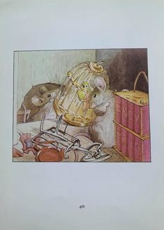 1950's Vintage 'The Tale Of Two Bad Mice' | Etsy Postcard Printing, Beatrix Potter, Wild Birds, All Print, Mice, Vintage Prints, The Book, 1950s, The Originals